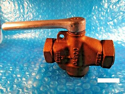 "CLECO 850006-8 BALL VALVE w/PRESSURE RELIEF AND LOCK 1"" ONE INCH"