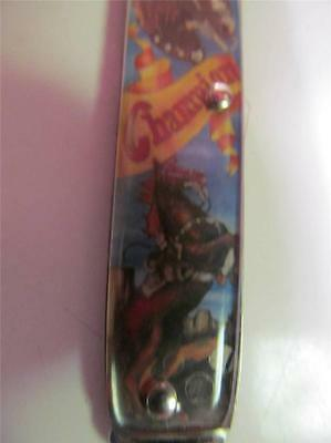 Vintage Colonial Gene Autry Pocketknife By Novelty Knife Co. New In Package