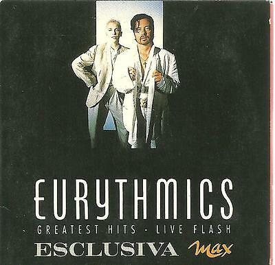 "C5 rare 3"" cardboard sleeve Italy Only Cd  PROMO EURYTHMICS GREATEST HITS LIVE F"