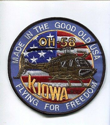 BELL OH-58 KIOWA HELICOPTER US ARMY AVIATION COMPANY SQUADRON UNIT PATCH