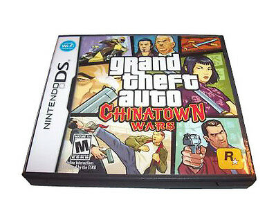 Grand Theft Auto: Chinatown Wars  (Nintendo DS, 2009) Cartridge Only