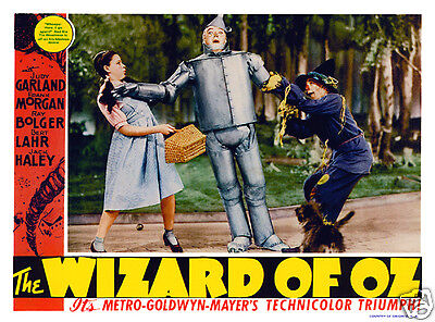 THE WIZARD OF OZ  LOBBY SCENE CARD # 2 POSTER 1939
