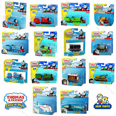 Thomas The Tank Engine and Friends Take-n-Play Diecast & Magnetic Trains Mattel