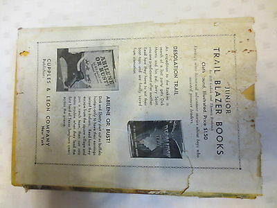 Rare vintage children's book, Bomba the Jungle Boy and the moving mountain 1926