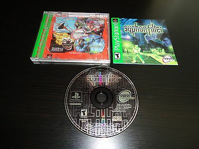 Syphon Filter Complete PS1 Playstation 1 Game