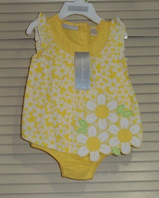 First Impression Baby Girls' One Piece Sunsuit Romper - Size 3-6 M  NWT