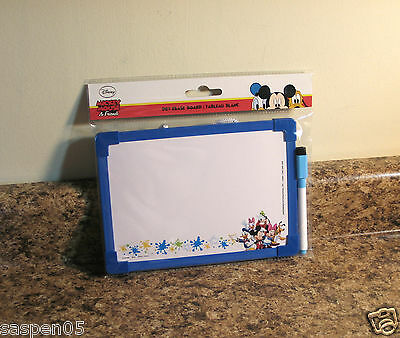Disney Mickey Mouse and Friends Dry Erase Board with Marker NEW