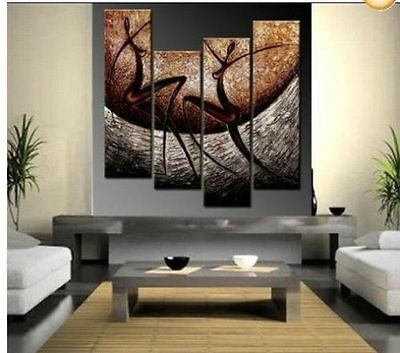 MODERN HUGE ABSTRACT WALL ORNAMENTS CANVAS OIL PAINTING