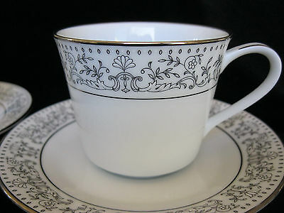 Noritake China Eminence Cup and Saucers Lot of 8