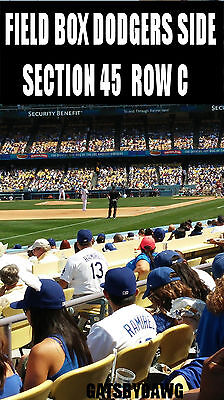 2 OR 4 LA Dodgers Tickets 4/27 SF Giants FIELD Cy Young Pin Don Drysdale E-SHIP