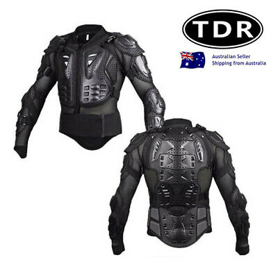 KIDS New Titan Style Junior Racing Body Armour Full Jacke MX ATV Quad Dirt Bike