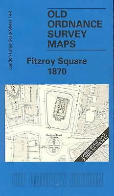 Map Of Fitzroy Square 1870