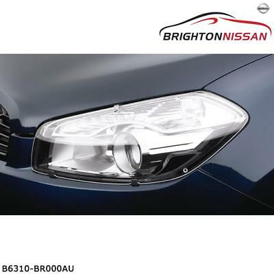 New Genuine Nissan J10 Dualis Headlamp Protector Set B6310BR000AU RRP $87