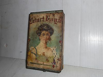 VINTAGE COURT ROYAL TOBACCO TIN FACTORY # 93