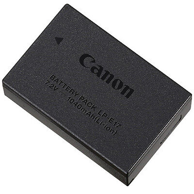 Genuine Canon LP-E17 Lithium-Ion Battery Pack for EOS M3 - $57.50 NEW