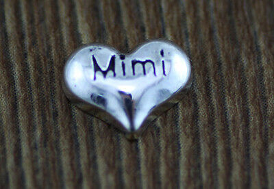 hot 10pcs MIMI wholesale Floating Charms for Glass Memory Locket necklace e18