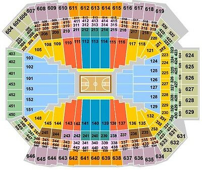4 Tickets - 2015 NCAA Men's Basketball Final Four - ALL SESSIONS - Section 609