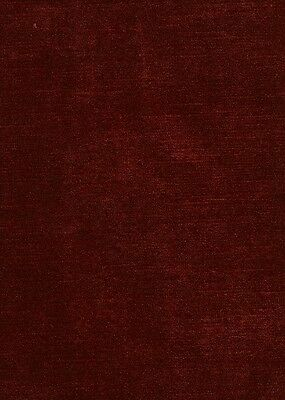 Awesome Velvet! Brussels Cinnabar Upholstery Craft Fabric ~ 3Y Min Purchase Req