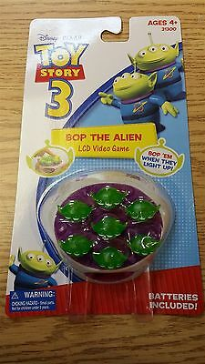 DISNEY PIXAR TOY STORY 3 31300 Bop The Alien LCD Video Game NEW