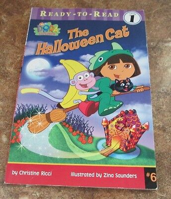 Nick Jr Dora The Explorer The Halloween Cat Ready-To-Read Level 1 Childrens Book