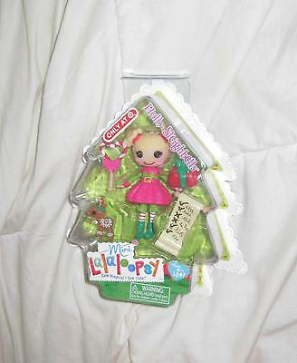 """Lalaloopsy Exclusive Holly Sleighbells Mini 3"""" Doll Target Exclusive - BRAND NEW"""