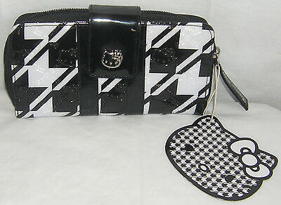 Hello Kitty Wallet Clutch LOUNGEFLY EMBOSSED FREE SHIPPING NICE GIFT NWT