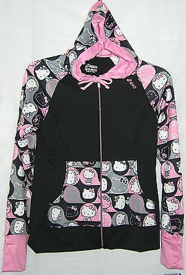 Hello Kitty Hoodie ASICS PINK X SMALL NICE GIFT FREE SHIPPING NWT