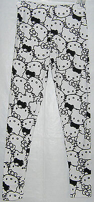 Hello Kitty Leggings Stretch Full Length NICE GIFT FREE SHIPPING SMALL