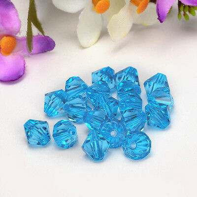 Free shipping charm for 30pcs swarovski Crystal 10mm 5301 Bicone Beads Y68