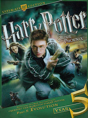 Harry Potter and the Order of the Phoenix (DVD, 2011, 3-Disc Set, WS;...