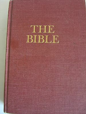 Old Vtg 1946/1952 Religious Book HOLY BIBLE Original Tongues American Society