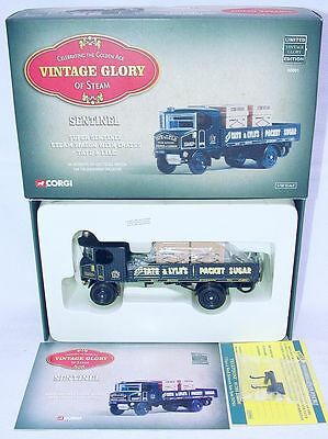 Corgi Toys 1:50 SENTINEL D64 STEAM WAGON + CRATES TATE & LYLE TRUCK Set MIB`99