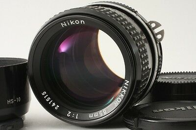 Nikon Ai 85 85mm 2 F/2 lens Excellent+++ condition from Japan #0038