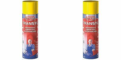 Lot De 2 Transyl Degrippant Lubrifiant Protege Spray 400 Ml