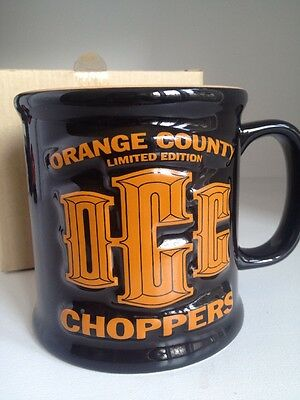 Orange County Choppers Limited Edition Mug Coffee Cup BIG. New In Box
