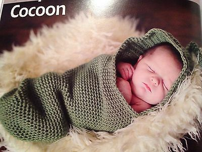 Newborn Peapod Baby Cocoon Photo Prop Or Gift Crochet Knitted Gifts