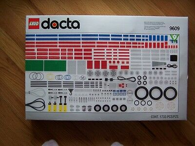 Lego 9609 Dacta Technic Mindstorms 1733 Piece Technology Resource Set AWESOME