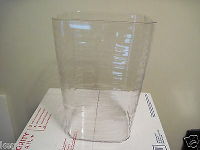 Plastic PROTECTOR for Longaberger Small Square Waste Basket NEW