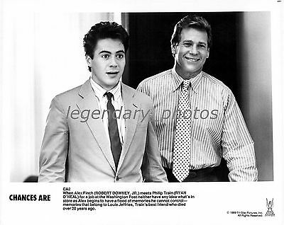 1989 Chances Are Movie Press Photos (4)  Robert Downey, Jr