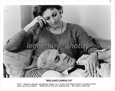 1989 Crimes & Misdemeanors Movie Press Photos (3)  Woody Allen