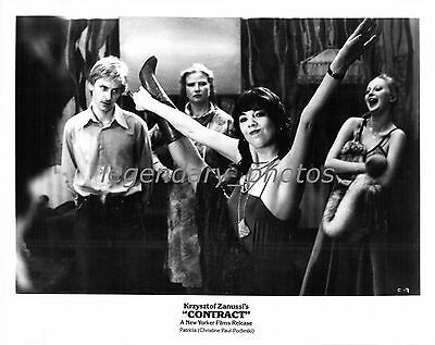 1980 Contract Movie Press Photo