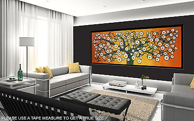 150cm x 50cm  Tree of Life Australia Landscape art flower  canvas painting