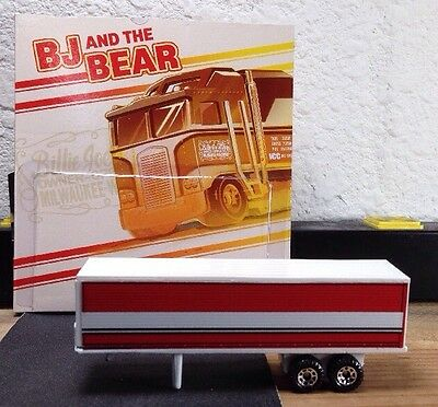 Customized Bj and the Bear Retro Entertainment Kenworth Semi TRAILER ONLY!!