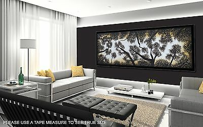 150cm x 50cm  ART PAINTING TREE LANDSCAPE  print ABORIGINAL canvas not framed