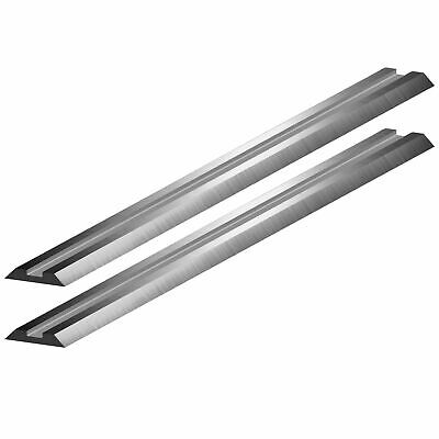 2 x 80.5mm TUNGSTEN CARBIDE planer blades to fit DEWALT DW676K hand planer
