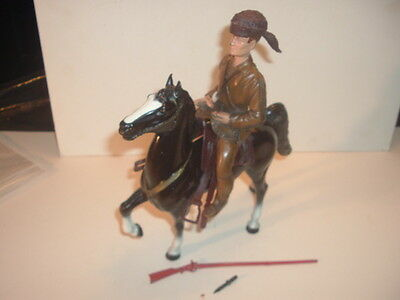 1950's Davy Crockett Breyer Statue and Horse Set