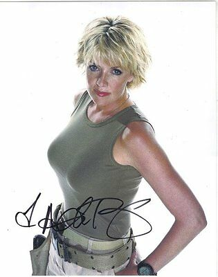 Amanda Tapping as Samantha Carter on Stargate SG-1 Autographed 8 x 10 Photo #3