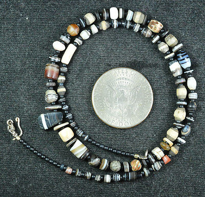 Ancient Islamic Pyu Agate Beads Suleiman 84 Beads Top Necklace 2000 Years Old 07