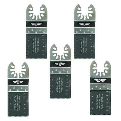 5 x 35mm Bi-metal Blades For Dewalt Stanley Black & Decker Oscillating Multitool