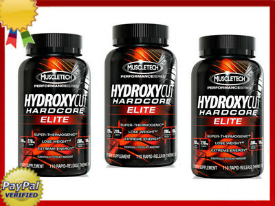 MuscleTech Hydroxycut Hardcore Elite 100 110/220/330 capsules SHIPPING WORLDWIDE